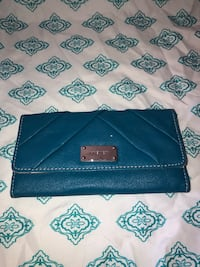 Nine West teal/ blue wallet  Canyon Country, 91387