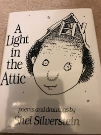 A light7 in the Attic by Shel Silverstein book