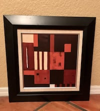 28 inch square black frame wall decor Bakersfield, 93311