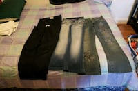 women's black and two pair of blue Jean's. Winnipeg, R2V