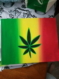 Pot Leaf Painting Edmonton