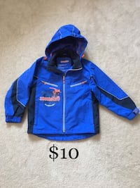 Waterproof Boys Fall Jacket Size 10 Mississauga, L5W