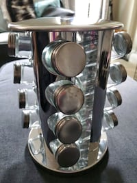 stainless steel and glass Spice Rack Odenton, 21113