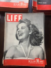 Vintage 40's LIFE Magazines Seattle, 98168