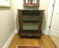 TV stand..heavy marble top..will hold up to 36' .. Baltimore, 21230