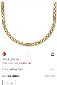"""On Sale 14kGold Chain 22""""inches Los Angeles, 90010"""