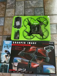 Drone FPV streaming quadcopter drone with box