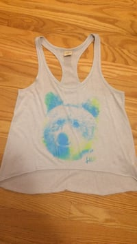 White and blue bear printed hollister size small LaSalle, N9H 1R6