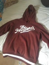 Red the hundreds sweater size L mens Richmond Hill, L4B 2Z8