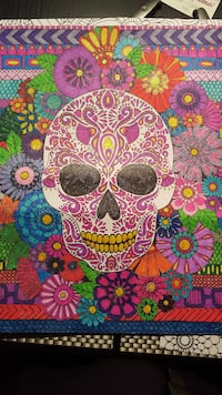 White and pink sugar skull Coventry, 02816