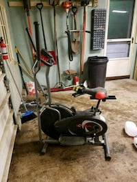 black and gray elliptical trainer Rochester, 14623