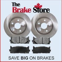 Front Brake Pads and Rotors for Toyota Camry  LetGO Special Pricing Brampton, L6T 5V9