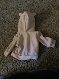 Toddler's pink zip-up hoodie Laurel, 20708