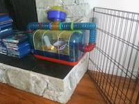 Hamster cage+supplies  Coquitlam, V3J 6T3