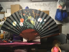 Chinese fan home decoration