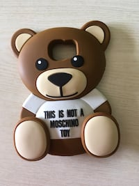 Cover moschino brown bear