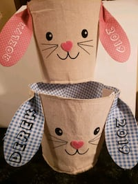 Custom easter basket