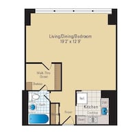 Gorgeous studio apartment available for sublet/lease transfer Arlington