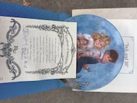 Jack & Jill commemorative plate with Certificate of Authenticity