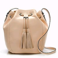 J.Crew tassel-tie bucket bag in smooth leather Mississauga, L5J 1E2