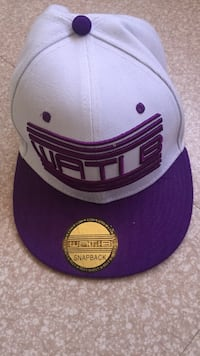 Violet et blanc new era wati b 9fifty snapback