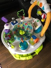 exersaucer for baby, only three months of use. Toronto, M9N 1T9