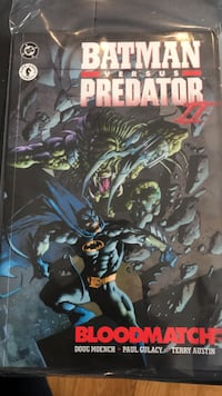 Comic. Batman Versus Predator 2 Bloodmatch