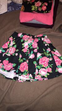 black, pink, and green floral skirt Halifax, B3M 1S6