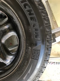 Michelin Latitude X-Ice Xi2 Tire Winter tires with rims
