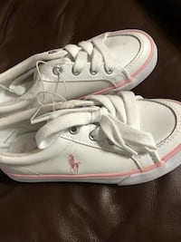 BRAND NEW TODDLER SIZE 12 POLO SHOES