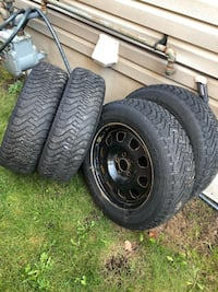 5x115 Dodge rims and snow tires  Guelph, N1E 7H6