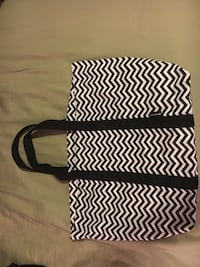 Black and white Jazzercise tote