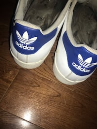 Pair of white adidas low-top sneakers Gatineau, J9H 2R4