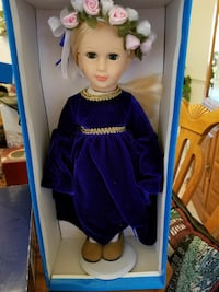 blue dressed doll with blue box Frederick, 21702