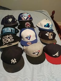 Toronto hats 15-20each all real official Richmond Hill, L4B