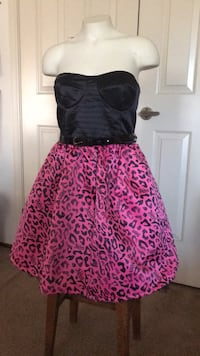 short dress in black and hot pink Milpitas, 95035