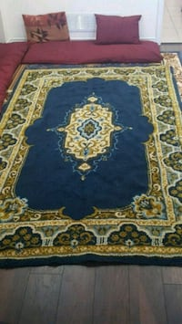 blue and brown floral area rug Richmond Hill, L4E 0S2
