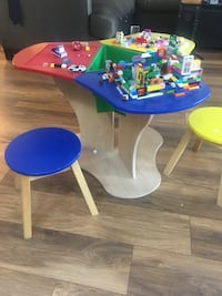 LEGO table and stools - kidcraft  Coquitlam, V3K
