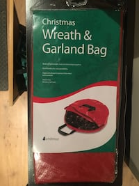 Brand New Christmas Wreath and Garland Bag  Toronto, M1N 2Z9