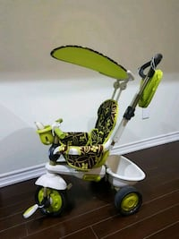 toddler's yellow and black bicycle with training w Milton, L9T 0R4