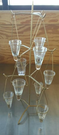 ☆☆3 TIER METAL CANDLE HOLDER (HOLDS 9 CANDLES!)☆☆