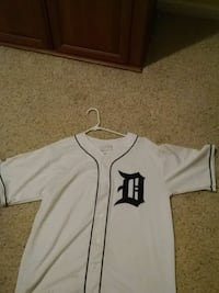 Detroit tigers jersey large retro english D Lapeer, 48446