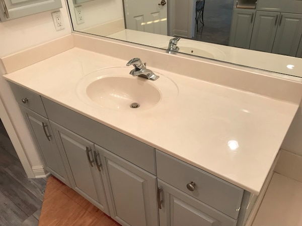 Cultured Marble Bathroom Countertop