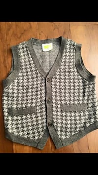 White and gray vest Indio, 92203