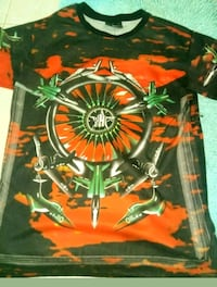 Givenchy Red Fighter Jet Star Appliqué Print Colum Silver Spring, 20902
