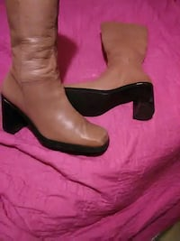 Leather boots size 9 1 /2,,Tommy$ 30 Brownsville, 78526