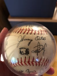 1991-95 Baltimore Orioles signed Baseball Baltimore, 21236