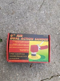 """6 """" DUAL Action Sander Capitol Heights, 20743"""