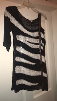 Sequined black and white dress  Metairie, 70002
