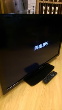 black Samsung flat screen TV Newark